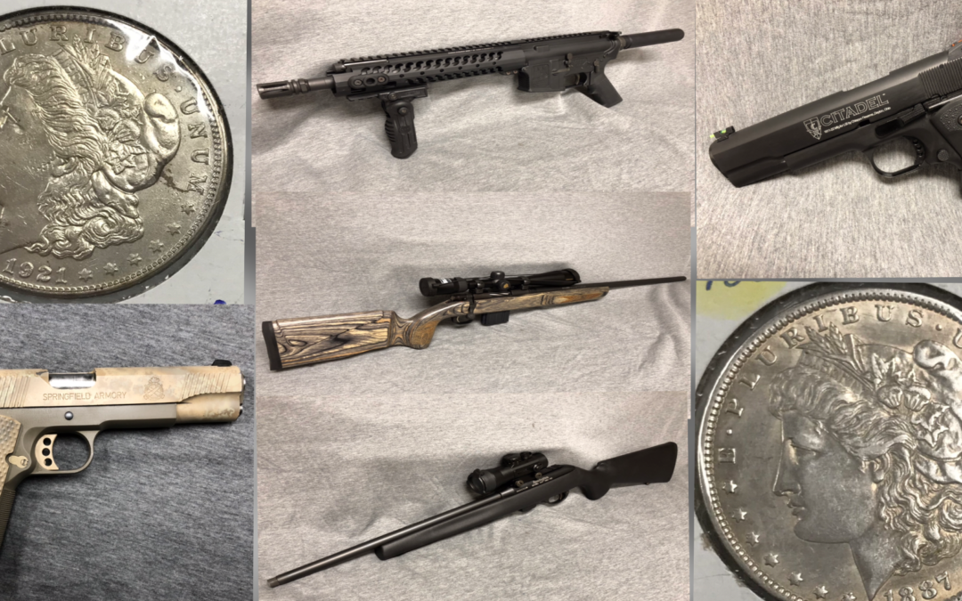 Guns & Coins Online Auction Thursday May 23rd – 29th