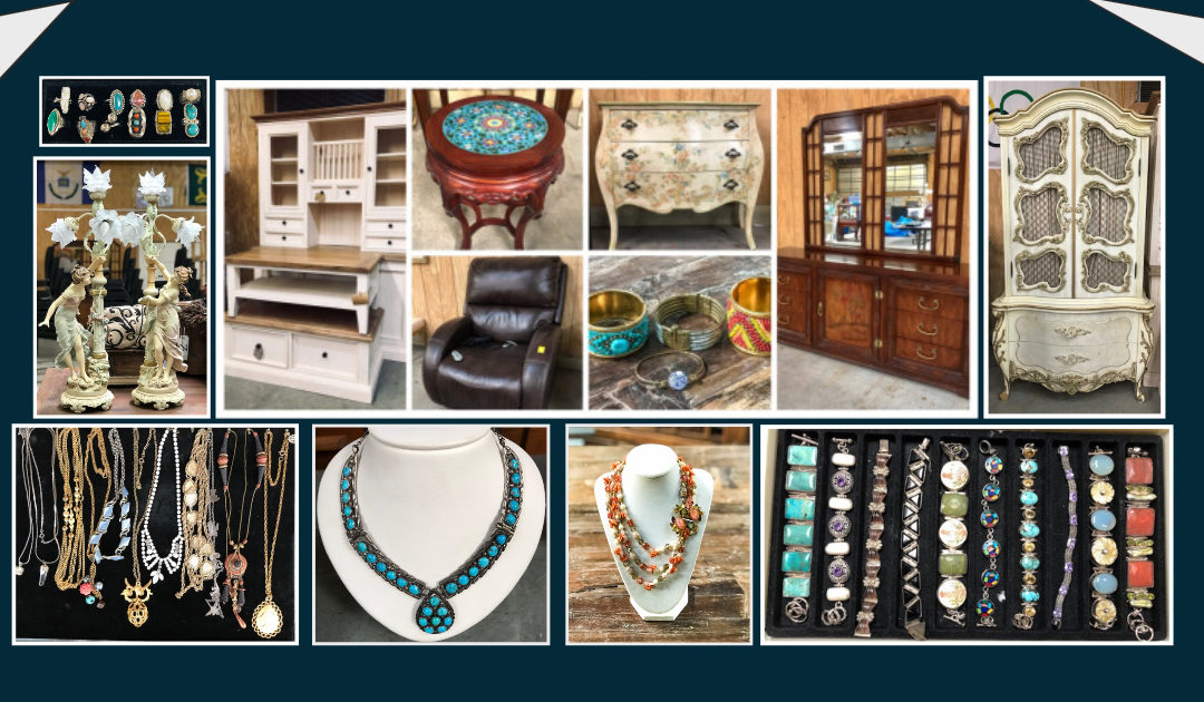 SUNDAY SEPTEMBER 29nd  High-End Estate, New Furniture, Vintage & Fine Jewelry & More!
