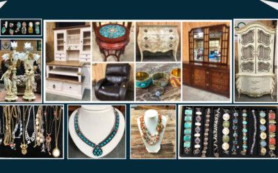 SUNDAY SEPTEMBER 29nd  High-End Estate, New Furniture, Vintage & Fine Jewelry & More!