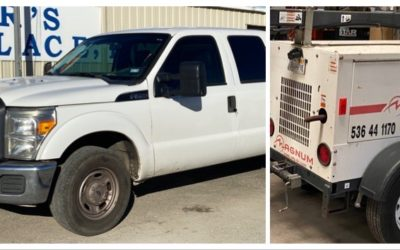 SUNDAY JANUARY 19TH AT 1PM – BANKRUPTCY VEHICLES & EQUIPMENT, COMMERCIAL LIGHTING & MORE!