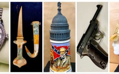 SUNDAY FEBRUARY 9TH 1PM GUNS, MILITARY RELICS, WATCHES & JEWELRY AUCTION!