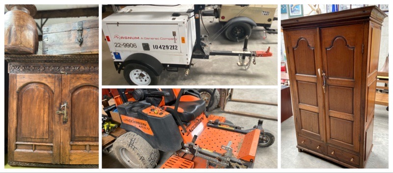 SUNDAY FEBRUARY 16TH 1PM TOOLS, OUTDOOR EQUIPMENT, NEW FURNITURE & MORE AUCTION