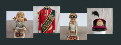ONLINE AUCTION – FEBRUARY 28TH – MARCH 6TH  MILITARY RELICS, HUMMELS & MORE