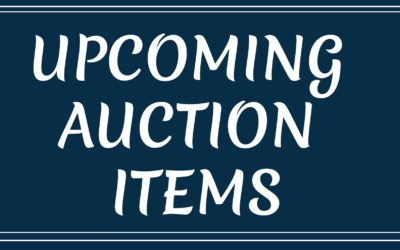 APRIL & MAY AUCTIONS
