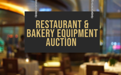 ONLINE AUCTION – BAKERY EQUIPMENT  AUGUST 26TH-SEPTEMBER 2ND