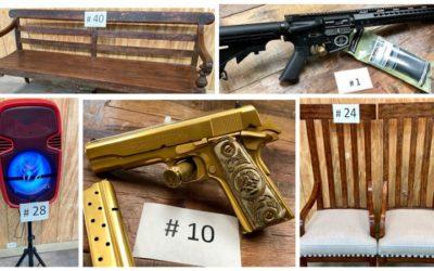 ONLINE GUN & FURNITURE AUCTION APRIL 22ND-27TH