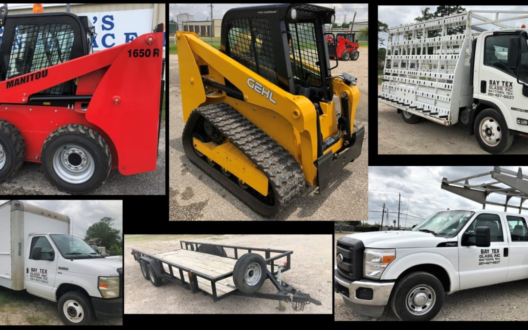 ONLINE – SKID STEERS, BANKRUPTCY TRUCKS & TRAILERS, RESTAURANT EQUIPMENT  JUNE 17TH-24TH