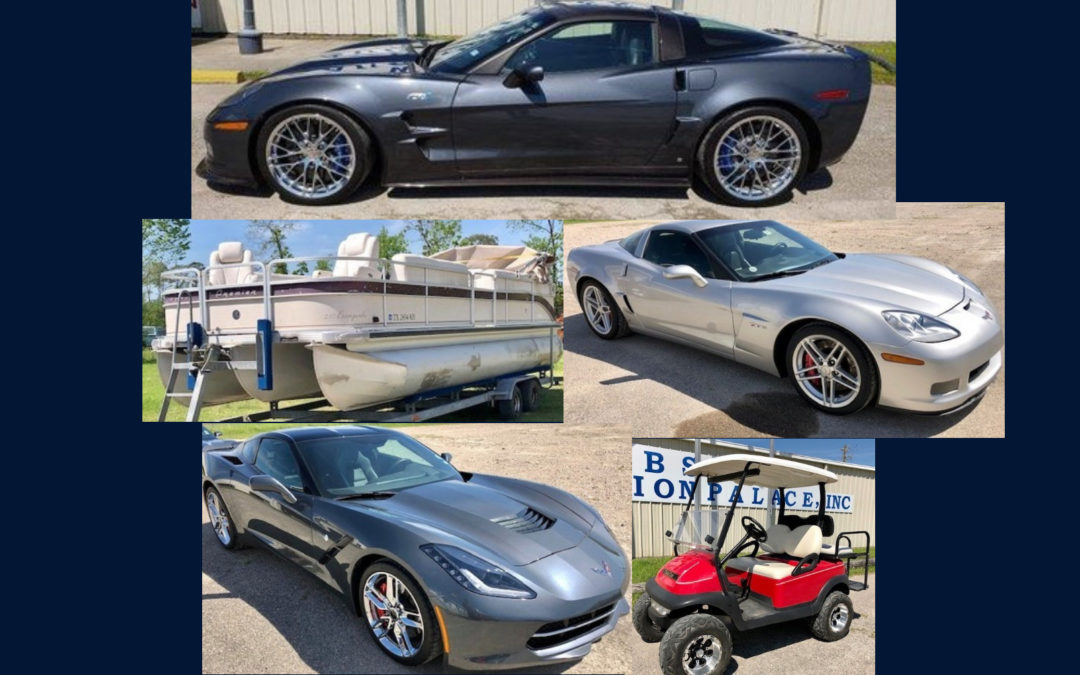 ONLINE AUCTION – CORVETTES, BOAT, BRONZES & MORE!  AUGUST 9TH – 17TH