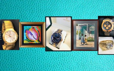 JEWELRY, BANKRUPTCY ARTWORK & GLASSWARE – SUNDAY JULY 26TH 1PM