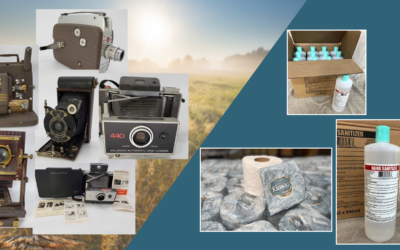 ONLINE – BANKRUPTCY CAMERA'S & SANITIZER, TOILET PAPER & MORE – JULY 15TH – 22ND