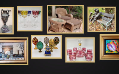 ONLINE AUCTION –  BANKRUPTCY PATIO FURNITURE, BRONZE STATUES, ARTWORK & GLASSWARE JULY 29TH-AUG 5TH