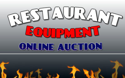ONLINE – WEDNESDAY NOVEMBER 25TH – MONDAY NOVEMBER 30TH  HUGE RESTAURANT EQUIPMENT & FURNITURE AUCTION
