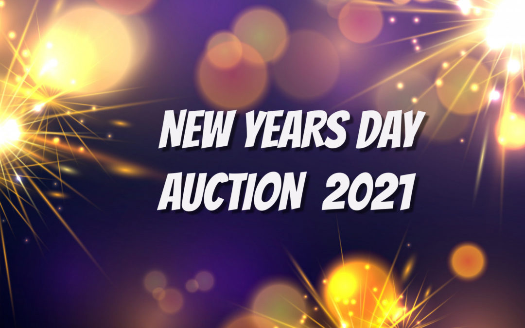 NEW YEARS DAY – LIVE AUCTION CARS, JEWELRY, GUNS & MORE AT 1PM; DOORS OPEN AT NOON TO VIEW