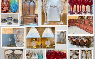 ONLINE AUCTION – HUGE MULTI ESTATE & INTERIOR DESIGNER HOME FURNISHINGS AUGUST 11TH – 18TH
