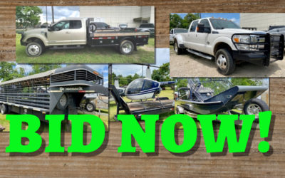ONLINE AUCTION  TRUCKS, BOATS, TRAILERS, HELICOPTERS WEDNESDAY SEPTEMBER 15TH – 22ND