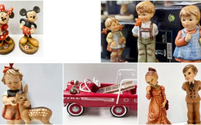 ONLINE AUCTION – COLLECTIBLE DIECAST, ANRI, HUMMELS & MORE  STARTS FRIDAY OCTOBER 8TH AT 10AM