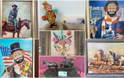 ONLINE AUCTION – FINE ARTWORK, BRONZE STATUES, LARGE ANIMAL MOUNTS  WEDNESDAY SEPTEMBER 29TH – WEDNESDAY OCTOBER 6TH